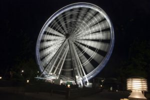 Panoramic Wheel by Night Brisbane