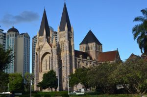 St. Johns Cathedral in Brisbane
