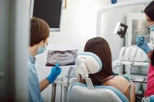 Dentist Examining X-ray | Dentist Yatala